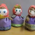 Поделки «Куклы— три подруги»