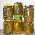 Консервирование огурцов с семенем горчицы