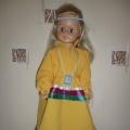 Кукла в обско-угорском костюме современной интерпритации