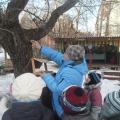 Фоторепортаж с городской природоохранной акции «Добрая зима»