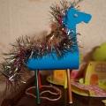 Наша новогодняя поделка— лошадка