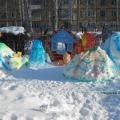 Постройки из снега. «Зимняя фантазия»