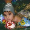 Спортивный праздник на воде «Непослушные мячи»