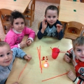 «Рябинка» в технике квиллинг для детей старшей группы