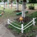 Оформление территории детского сада для решения задач экологического воспитания