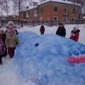 Наши зимние постройки.
