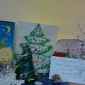 Выставка работ детей и родителей «Зимняя сказка»