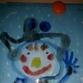 Выставка рисунков. «Волшебный снеговик»