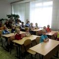 Экскурсия детей подготовительной группы в школу