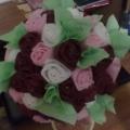 Наш подарочек для любимой мамочки— корзинка с розами