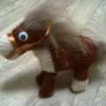 Елочная игрушка «Лошадка»