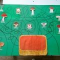 Дидактическая игра «Собери грибы в корзинку»
