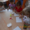 Рисование солью «Морская звезда» с детьми 3–4 лет.