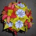 Цветочные шары в технике «Кусудама»