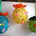 Ниточные шарики