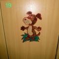 Оформление детских садов: оформление раздевалки. Оформление шкафчиков. Наши красивые шкафчики.