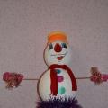 «Новогодний снеговик»