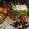 «Салат в корзинке»