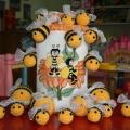 Вышивка и вязание крючком «Улей с пчелками»