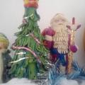 Пластилиновые Дед Мороз и Снегурочка