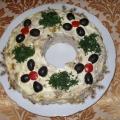 Салат «Лесная полянка». Рецепт