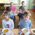 Культурно-гигиенические навыки за столом