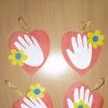 Поделки дню матери своими руками в детском саду