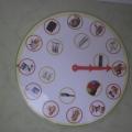 Игра по воспитанию ЗОЖ «Часы здоровья»