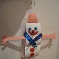 Снеговик на елку