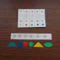 Дидактическая игра по математике «Собери бусы».