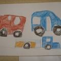 «Транспорт»— рисование цветными карандашами в средней группе