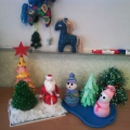 Новогоднее творчество детей нашей группы и родителей