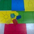 «Выложи из палочек». Дидактическая игра для развития простейших математических представлений у детей 3–4 лет