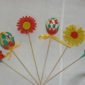 Коллективные поделки воспитателя и детей к празднику Пасхи