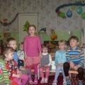 Наши «Звездочки»— подшефные у малышей