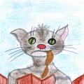 Детские рисунки к Дню кошек