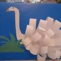 Объемная аппликация «Лебедь— перелетная птица». Мастер-класс