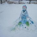 В царстве снежной королевы.