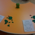 Конспект занятия по ориентировке в пространстве для детей с нарушением зрения (младшая группа).