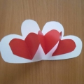 Объемная открытка «Валентинка»