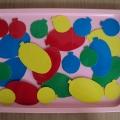Дидактическая игра для малышей «Развивающие шарики»