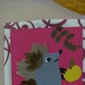 Занятие по ручному труду для детей старшей группы. Аппликация из сухих листьев «Еж Ежович»
