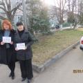 Районная акция «Парковка» в детском саду «Красная шапочка»