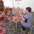 Познание предметного мира. Комплексное занятие в первой младшей группе. Тема: «Игрушки».