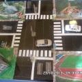 Макет дороги в детском саду
