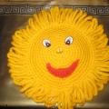 Мое вязаное солнышко