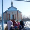 Посещение храма вместе с дошкольниками
