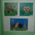 Кружковая работа из природного материала с детьми старших групп: «Природа глазами ребят»