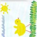 Рисуем цыпленка (малыши 3–4 лет)
