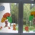 Осеннее окно в технике вытынанка (Мастер Класс)
